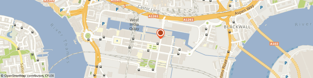 Route/map/directions to Chauffeur Hire, E14 0AA London, 8 Canada Square