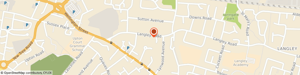Route/map/directions to Regal Homes (Southern) Limited, SL3 7AD Slough, 54 LANGLEY ROAD