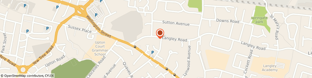 Route/map/directions to Xeon Global Limited, SL3 7AB Slough, 20 LANGLEY ROAD