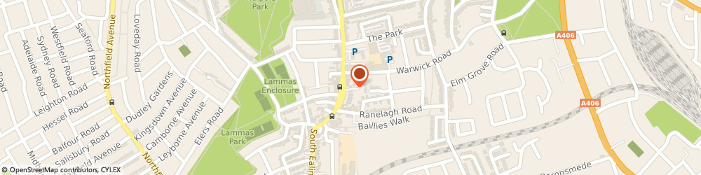 Route/map/directions to Starck Uberoi Solicitors, W5 5RG London, 45 St Mary's Road