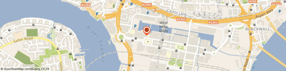 Route/map/directions to Dauntless Builders Canary Wharf, E14 4AP London, 1 Cabot Square