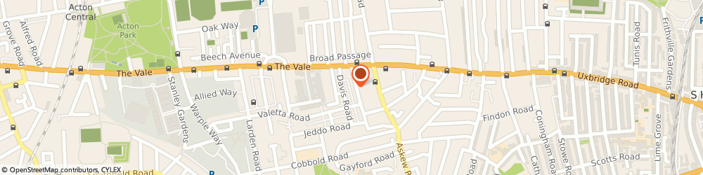 Route/map/directions to Anytime Locksmiths, W12 9DY London, St Elmo Rd