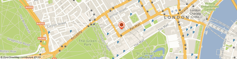 Route/map/directions to Holmen Paper Ltd, SW1A 1DW London, BYRON HOUSE, 7-9 ST. JAMES'S STREET