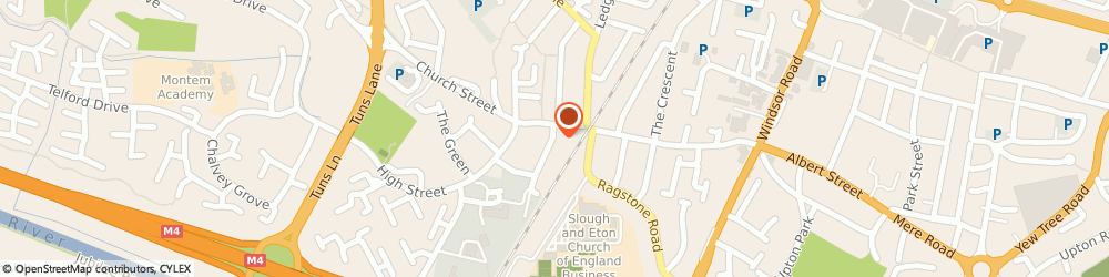 Route/map/directions to HUGH'S, SL1 2NQ Slough, 1 Alexandra Rd