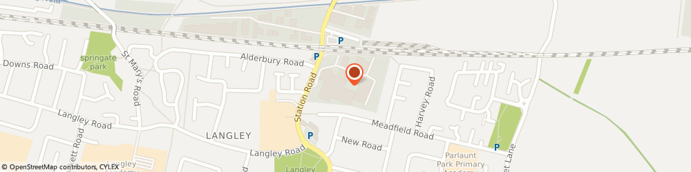 Route/map/directions to Rowenta, SL3 8PH Slough, UNIT 1A/LANGLEY BUSINESS CENTRE STATION ROAD