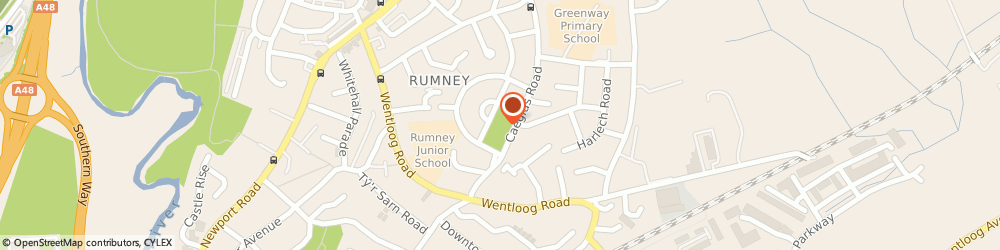 Route/map/directions to G.S. Bhogal Pharmacy, CF3 3LA Cardiff, Rumney Primary Care Centre, Barmouth Road