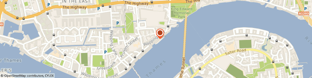 Route/map/directions to Catherine Deane, E1W 3SS London, 70 Wapping Wall