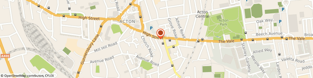 Route/map/directions to Portico, W3 6LY London, 137 High Street