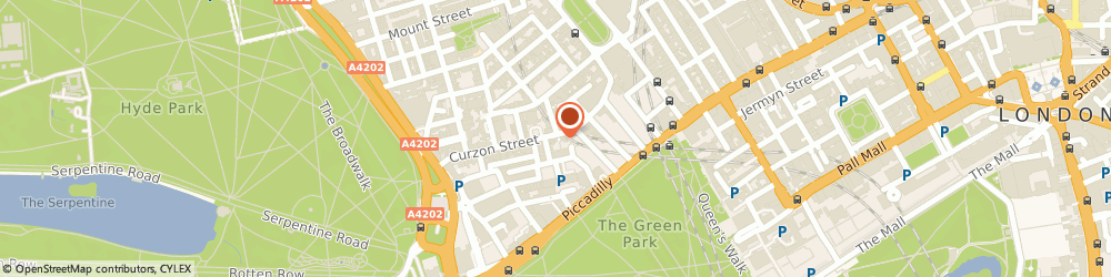 Route/map/directions to Hickstyle Limited, W1J 7UE London, 42-43 CURZON STREET