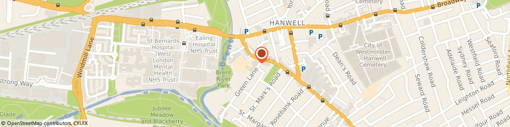 Route/map/directions to St. Mark S Primary School, W7 2NR London, 22 Lower Boston Rd