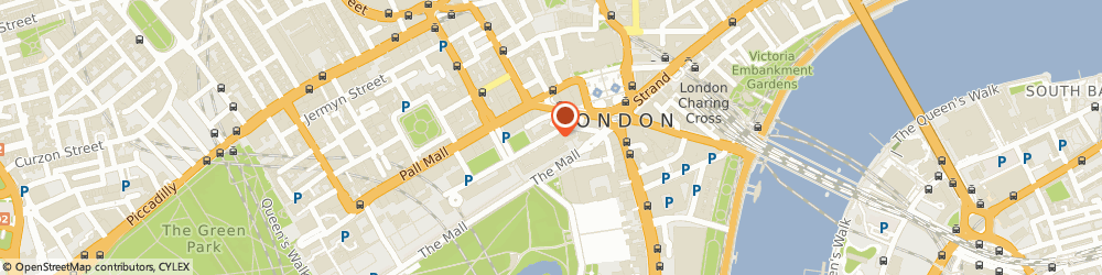 Route/map/directions to ROYAL SOCIETY OF BRITISH ARTISTS LIMITED, SW1Y 5BD London, 17 Carlton House Terrace