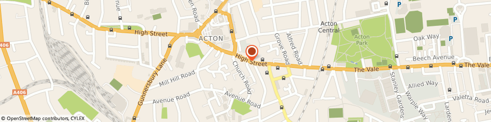 Route/map/directions to KFH, W3 6LP London, 145 High Street