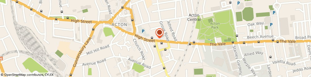 Route/map/directions to Scope - Acton charity shop, W3 6QX London, 88/88A High Street