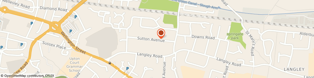 Route/map/directions to CAP PROPERTY GROUP LTD, SL3 7AP Slough, 43 Sutton Avenue