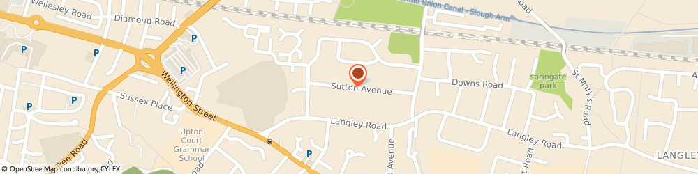Route/map/directions to Dkn Properties Limited, SL3 7AW Slough, 24 SUTTON AVENUE, LANGLEY
