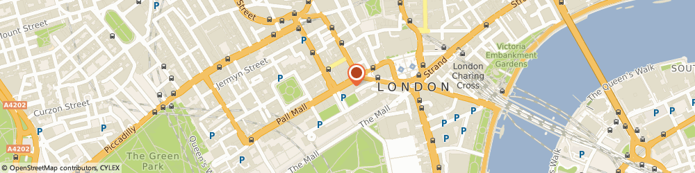 Route/map/directions to Anstee & Co, SW1Y 5ED London, 118 Pall Mall