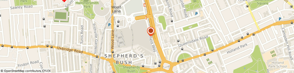 Route/map/directions to Burberry, W12 7GB London, Westfield Shopping Centre, Ariel Way