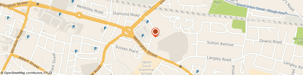 Route/map/directions to Safeaspect Property Management Limited, SL1 1TF Slough, 17 DOLPHIN ROAD
