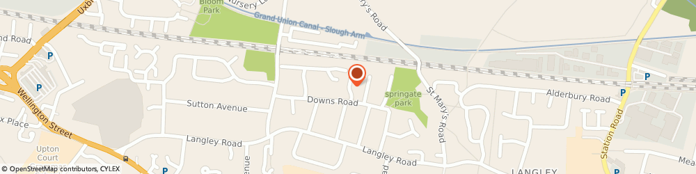 Route/map/directions to Telular Corporation, SL1 1QF Slough, PECHINEY HOUSE, THE GR