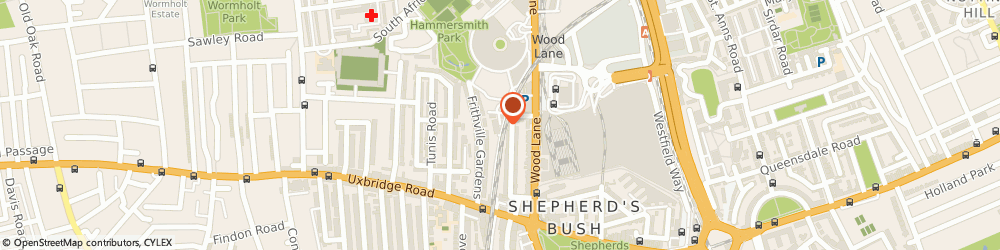 Route/map/directions to White City Signs and Graphics, W12 7LA London, 127 MacFarlane Rd