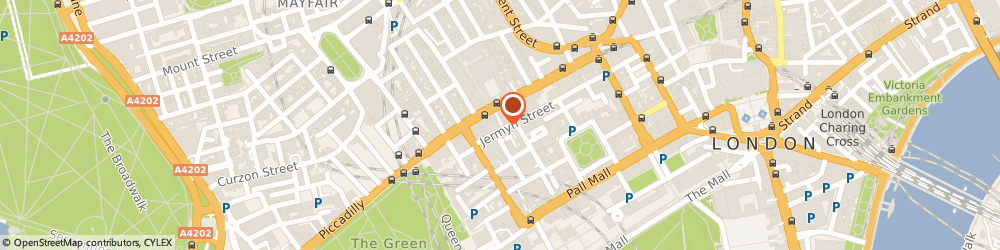 Route/map/directions to New & Lingwood and Joseph Gane London, SW1Y 6LX London, 53 Jermyn St
