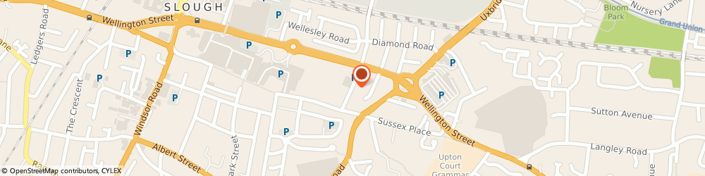 Route/map/directions to Royal Mail, SL1 1AA Slough, 15 Wexham Road