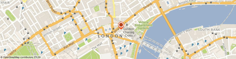 Route/map/directions to Excess Baggage, WC2N 5HR London, Charing Cross Station