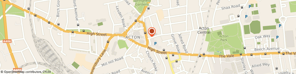 Route/map/directions to DIRECT AUTO RENTALS LTD, W3 6BS London, 144 Churchfield Road