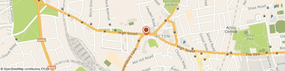 Route/map/directions to Aaron Cleaning Acton, W3 8HQ London, 79 Gunnersbury Ln