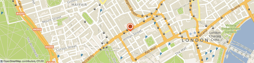 Route/map/directions to Airtime International Ltd, W1J 9TB London, Empire House, 175, Piccadilly