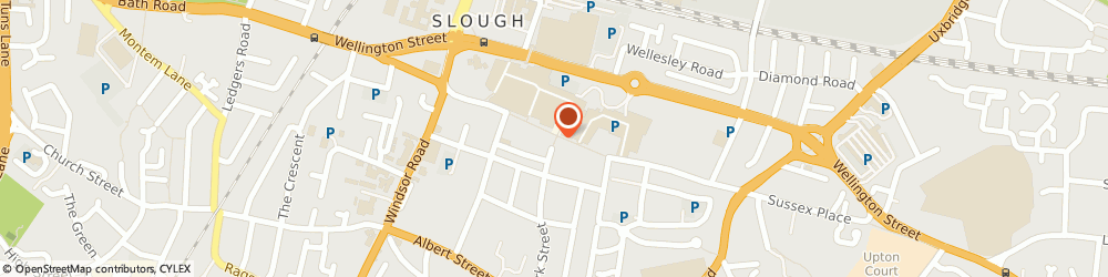 Route/map/directions to Boots Opticians, SL1 1JR Slough, 184 High Street