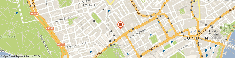 Route/map/directions to Varana, W1S 4LW London, 14 Dover Street