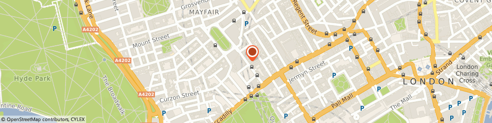 Route/map/directions to doesFood, W1J 8DY London, 15 Berkeley Street
