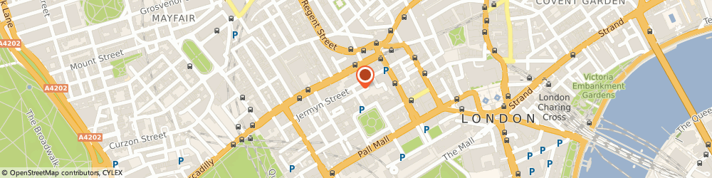 Route/map/directions to Charles Tyrwhitt, SW1Y 6EE London, 100 Jermyn Street