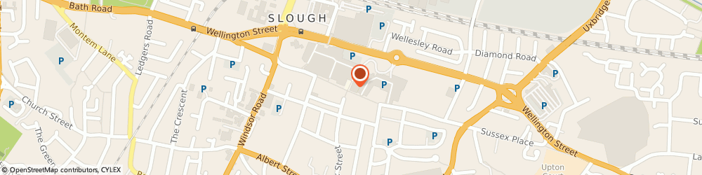 Route/map/directions to Slough, SL1 1YU Slough, 30 Queensmere Centre