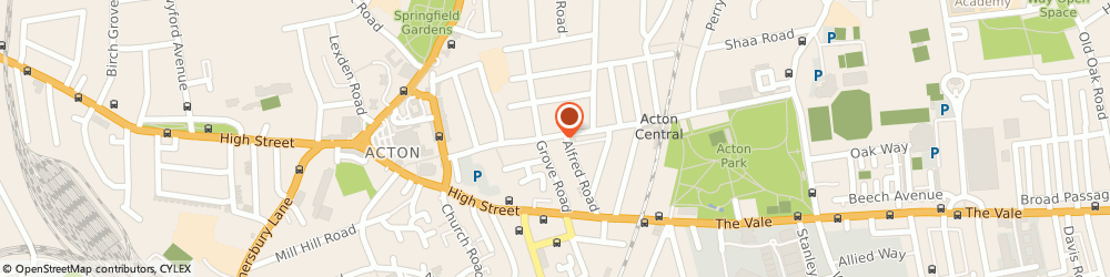 Route/map/directions to Maxis, W3 6AX London, 71 Churchfield Road