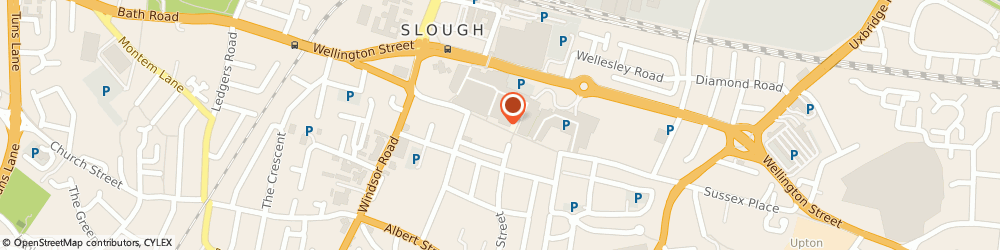 Route/map/directions to go tech, SL1 1LN Slough, Queensmere, High Street