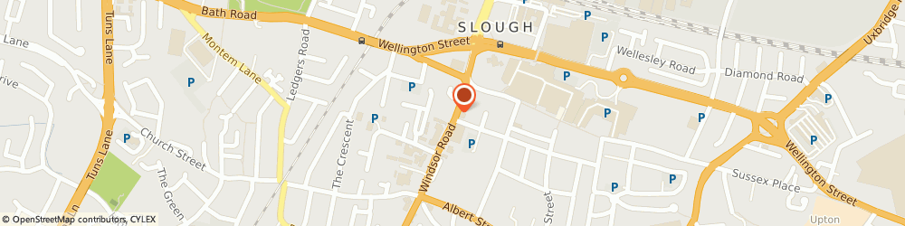 Route/map/directions to TLS Lettings, SL1 2EJ Slough, 28 Windsor Road