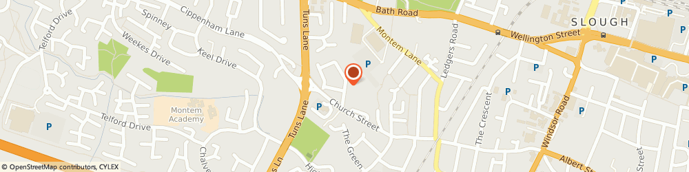 Route/map/directions to Melton House Management Limited, SL1 2NR Slough, 10 SEYMOUR ROAD