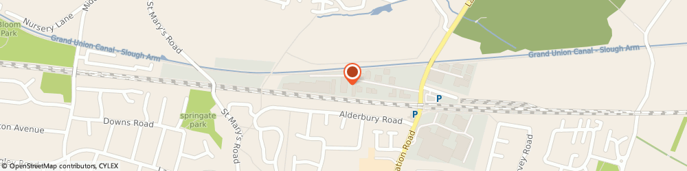 Route/map/directions to Sunny Double Glazing Ltd, SL3 6EP Slough, Unit 9 Elder Way Waterside Drive