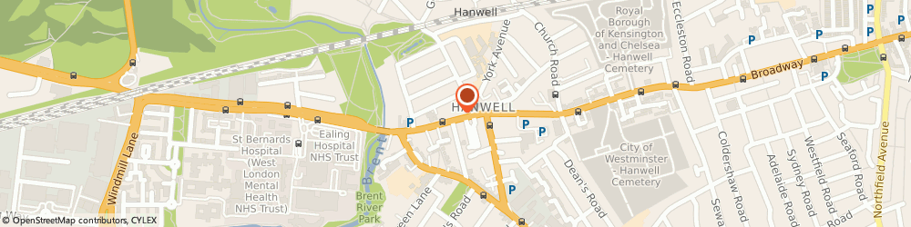 Route/map/directions to GROVER & CO CHARTERED ACCOUNTANTS, W7 3TH London, 173 Uxbridge Rd