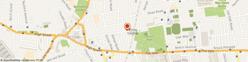 Route/map/directions to West London Cars, W3 6BD London, 23 Churchfield Road