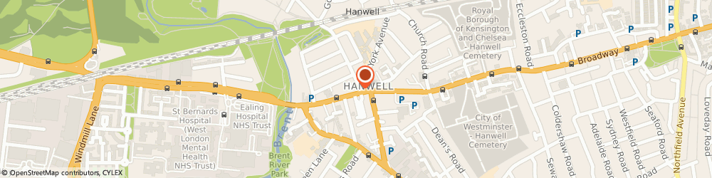 Route/map/directions to Locksmiths Hanwell Emergency Lock Repairs Hanwell Services, W7 3TH London, 167 Uxbridge Road