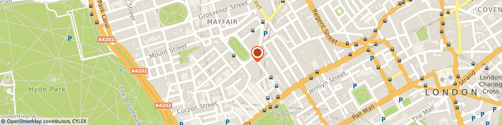 Route/map/directions to LUCIDA PLC, W1J 6ER London, 4Th Floor, Lansdowne House, 57 Berkeley Square