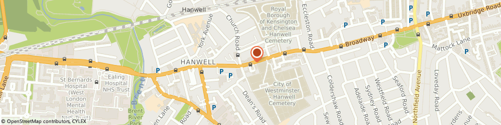 Route/map/directions to Accountancy Additions, W5 2TZ London, CRAVEN HOUSE, 40, UXBRIDGE ROAD