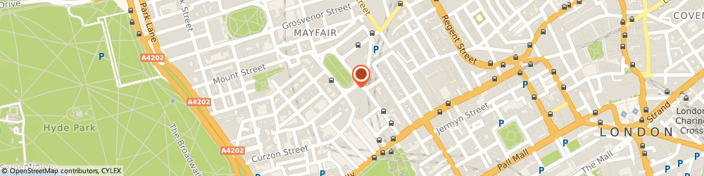 Route/map/directions to Reloux, W1J 5AP London, 43 Berkeley Square