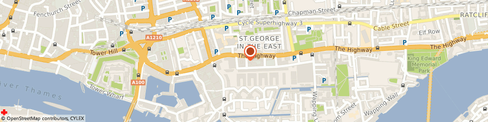 Route/map/directions to Criminal Clothing, E1W 2BS London, Office 1, 6-8 Telfords Yard
