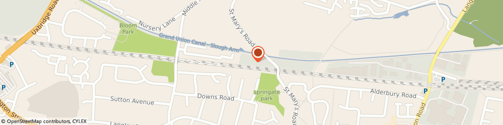 Route/map/directions to Brown & Miller Racing Solutions Limited, SL3 7FL Slough, Unit 5, Chancerygate Business Centre