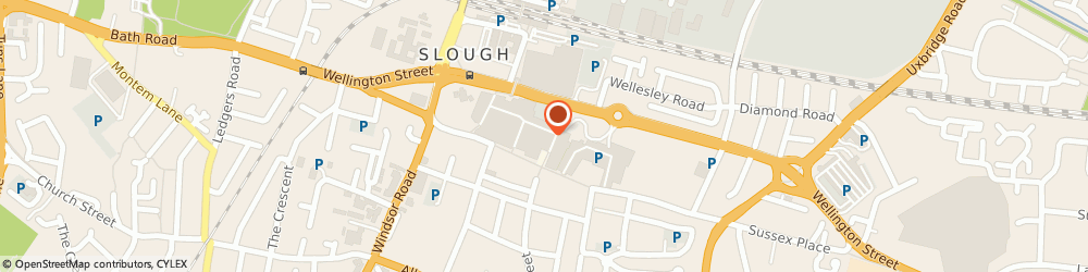 Route/map/directions to Gadgetz & Giftz Zone, SL1 1LE Slough, 46a The Observatory High St