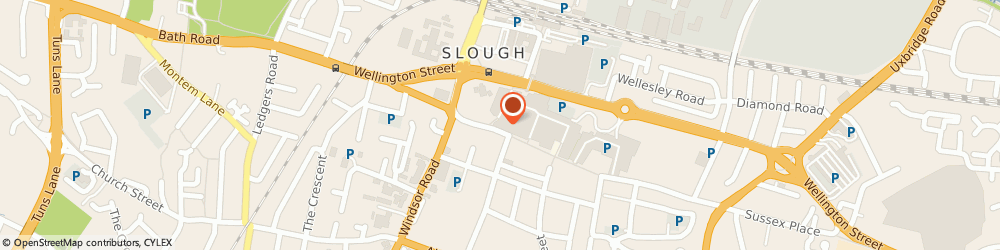 Route/map/directions to Dns Rollin' Motors Limited, SL1 1DN Slough, 135-139 High Street, Suite 3